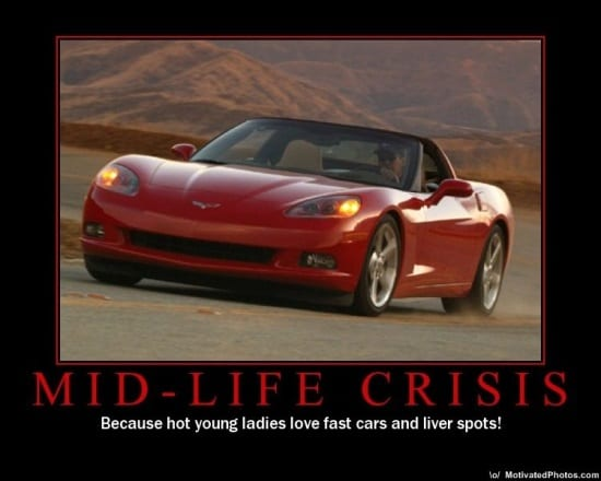 Mid lIfe Crisis car