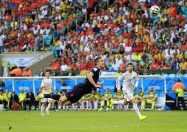 Robin van Persie netherlands spain wonder goal