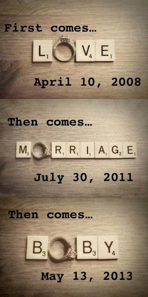 love marriage baby