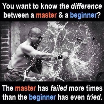 master makes more mistakes