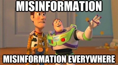 misinformation EPF