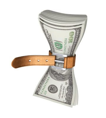 frugality with money