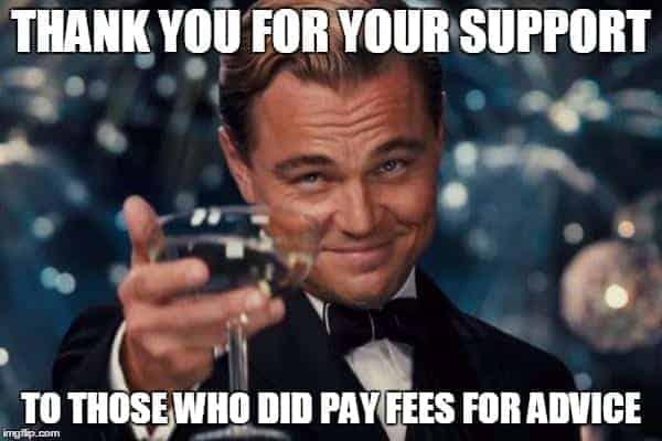 leonardo pay fees