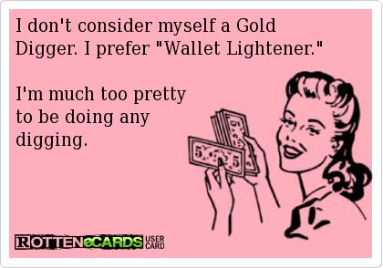 gold-digger wealth