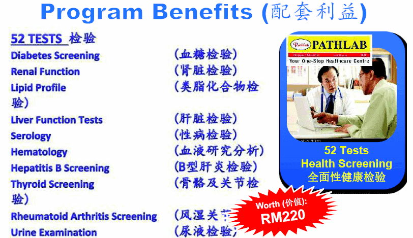 52 best medical card screening