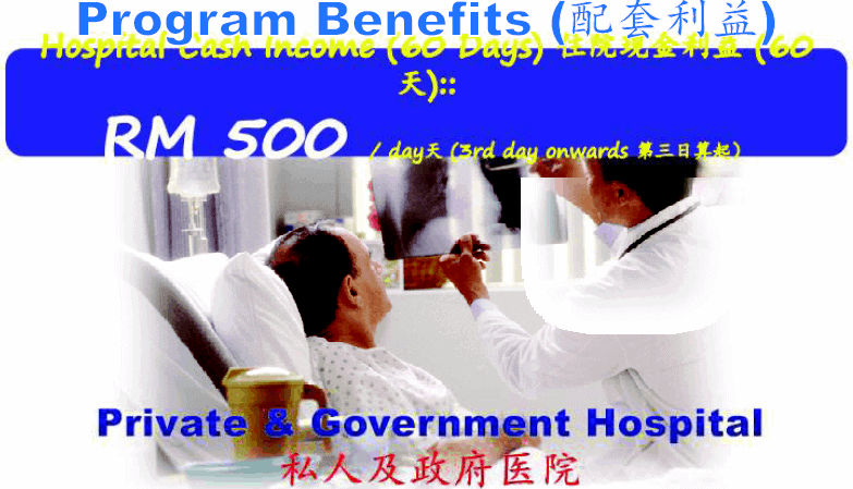 best medical card hospital cash income