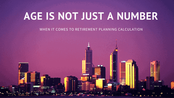 retirement planning calculation - age